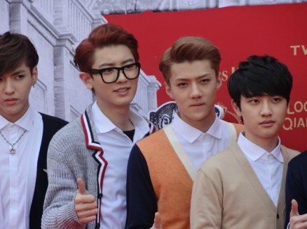 Kris, Chanyeol, Sehun & D.O.