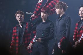 Sehun, Chanyeol & Kris