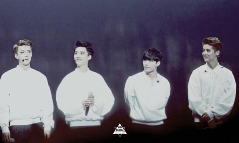 Sehun, D.O., Lay & Luhan