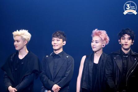Suho, Chen, Xiumin & Baekhyun_2