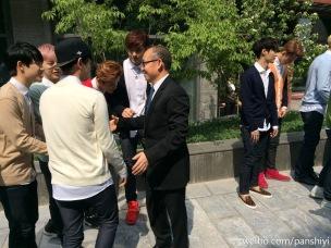Suho, D.O., Xiumin, Luhan, Kris, Lay & Sehun
