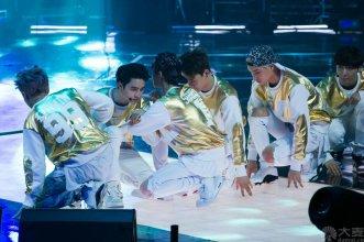 Xiumin, D.O., Suho, Chen, Kai & Lay