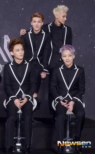 Chen, Xiumin, Sehun & Tao