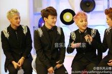 Tao, Chen, Xiumin & Luhan