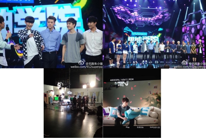 EXO @ Happy Camp Filming_pt3.2