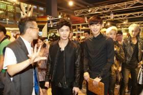 Lay, Chanyeol, Suho & Tao