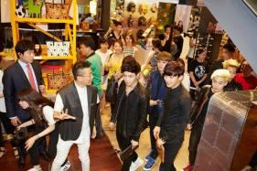 Lay, Chen, Chanyeol, Suho & Xiumin