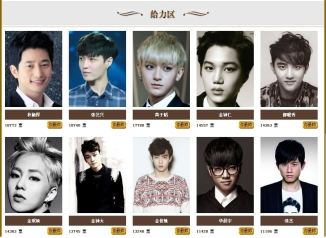 Asia's Top 10 Most Handsomest Ranking -Runner-Up Group