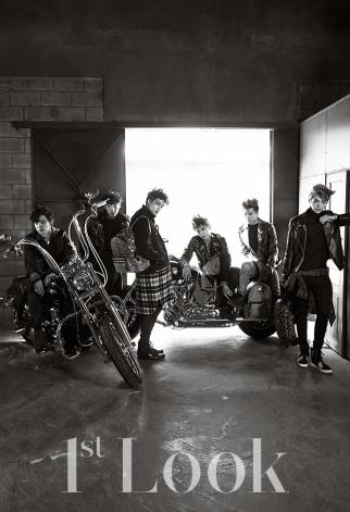 Chanyeol, Kai, Lay, Tao, Sehun & Luhan