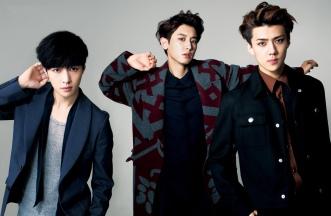 Lay, Chanyeol, Sehun