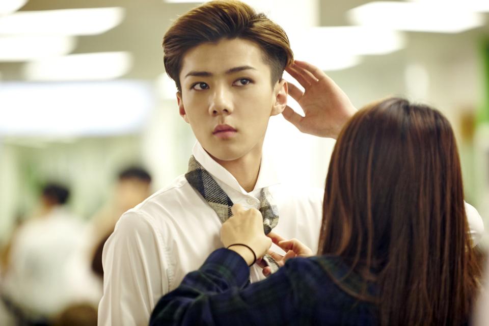 Картинки по запросу Sehun Exo stylist make up