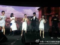 Kris & Cast Dancing
