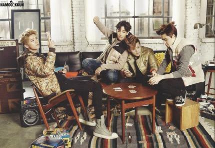 Luhan, Baekhyun, Sehun, & D.O.