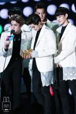 Sehun, Chanyeol, Suho, Tao, & Chen