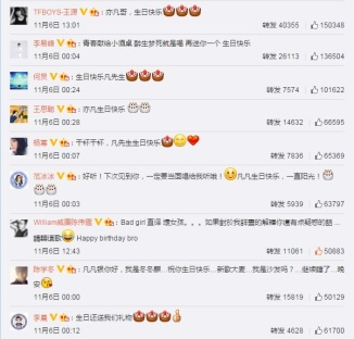Celebrity Wishes for FanFan