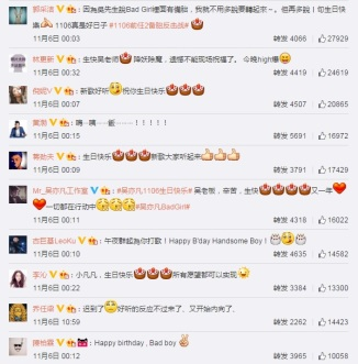 Celebrity Wishes for FanFan(3)