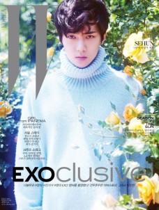Sehun_EXOclusive Cover