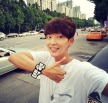 actor_jg: Hyunie thumbs up up (160731)