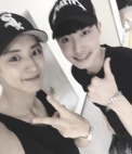 baek_seung_hyun_: The incredibly cool Chanyeol hyung at today's final concert!! Whenever I watch a concert, although I feel (enjoy) it, I can't help but think about all the effort that went into it… I enjoyed it very much!! Hwaiting EXO !! (160801)