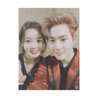 nam_gyuri: EXO's Mr Suho🍭 I enjoyed the concert 👍 The EXO that are more beautiful than girls. #EXO #Exo #Concert #Suho (160731)