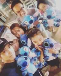 groovechaja: CY drew them all~!! #Dollclawmachinemaster #sixstitches #happyvirusasexpected (160811)