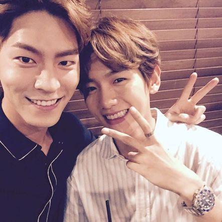 hjonghyun: Hyun, do well in the first broadcast~ @baekhyunee_exo (160818)