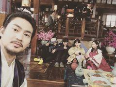 coralbear35: We are starting today. Moon lovers: Scarlet Heart Ryeo. With handsome actors and Director Kim KyuTae #directorkimkyutae #jisoo #baekhyun #kanghana #kimsanho #moonlovers #scarletheartryeo #firstbroadcase #dontmissit #sbs (160829)