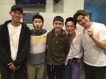 kimkibangbang: Kyungsoo! Joonsuk! Thanks for watching and enjoying I had fun performing because you guys came!! Pretty Kyungsoo who always cheers me on! ♥ (Kyungsoo said it was really fun and wants to travel) Feels so good!!ㅋㅋㅋ. #Europeblog #DoKyungsso #YeonJoonsuk (160830)