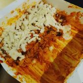 real__pcy: 핫하다는 치밥 제가한번 만들어봤습니다 #굽네 #볼케이노 (160923)